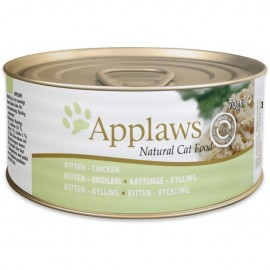 Applaws (愛普士) Canned Food For Kitten - Chicken Breast 全天然幼貓罐頭 - 雞胸肉 (70g)