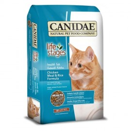 Canidae (咖比)  All Life Stage Chicken Meal & Rice ALS 雞肉紅米配方貓乾糧  4lb