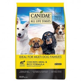 Canidae (咖比) ALL LIFE STAGES Made With Chicken Meal & Rice 雞肉糙米配方狗乾糧 15lb