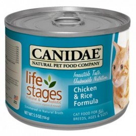Canidae (咖比) Life Stages 雞肉紅米配方貓罐頭 (5.5oz)
