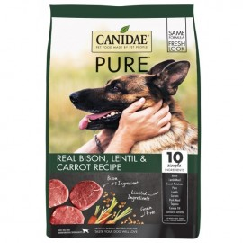 Canidae (咖比) Grain Free Pure Land Lentil & Carrot  無穀物 草原配方狗糧 北美野牛 羊肉 10lb