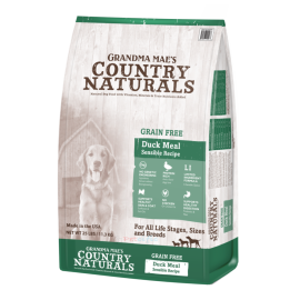 Country Naturals Grain Free Duck Meal Sensible Recipe 無殼物 全犬乾糧 - 防敏鴨肉精簡配方 24lb