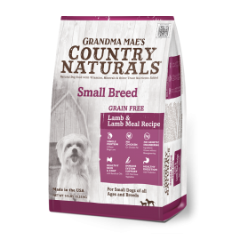 Country Naturals Grain Free Small Breed Lamb Recipe 無殼物 室內中小型犬乾糧 -羊肉防敏配方 14lb