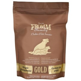 Fromm Gold Weight Management - Dog Food  金裝雞火雞魚蔬菜 低脂/體重控制-狗乾糧 (15 lb)