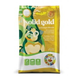 Solid Gold (素力高) Holistique Blendz 抗敏減肥配方 魚肉及薯仔狗乾糧 (15lb)
